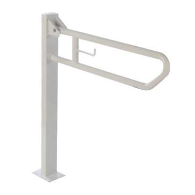 BG0803 Дръжка за тоалетна, с държач за тоалетна хартия, до 120 кг., Аксесоари за инвалиди 62ad1ecc