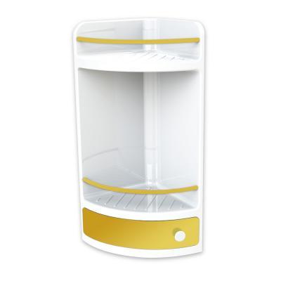 Ъглова етажерка, жълта, Аксесоари, PVC Аксесоари f5b91ae4