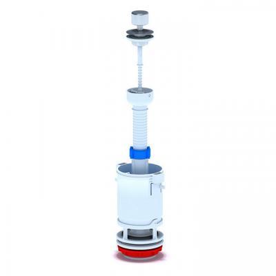 Изпразващ механизъм с метален бутон , Части за санитарен порцелан 906218a6