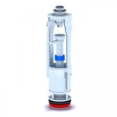 Изпразващ механизъм с хромиран  бутон , Части за санитарен порцелан 23281cc1