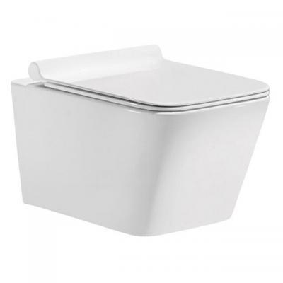"""Конзолна тоалетна чиния, ултра тънък дуропластов капак със система """"soft  close"""" и """"take - off"""", Окачени тоалетни чинии 4b6a1d4e"""