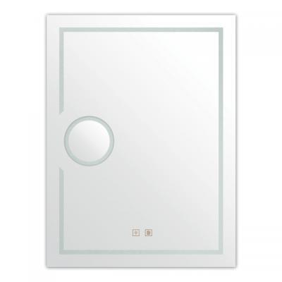 """LED огледало, 50*70 cm, с -ма  """"touch screen"""" и система против замъгляване, увеличително стъкло, , LED Огледала LED огледало с вградена система за осветление """"touch screen"""" и система против замъгляване, увеличително стъкло, размер 70*50 cm"""
