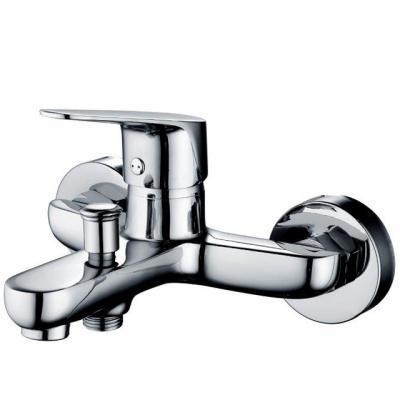 Стенен смесител за вана/душ без комплектация, месинг, ф35, Kád/Zuhany 237a1ccb