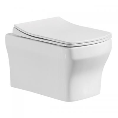 """Конзолна тоалетна чиния, Rimless, ултра тънък дуропластов капак със система """"soft  close"""" и """"take - off"""", Окачени тоалетни чинии e95e1994"""
