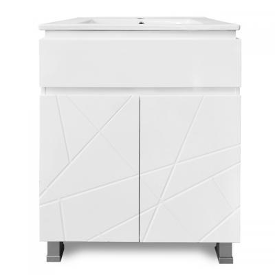 PVC Лион 60 см, база с умивалник, Мебели за баня PVC Лион 60 см, база с умивалник