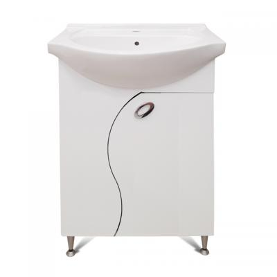 PVC Гала  55см, база с умивалник, Мебели за баня PVC Гала  55см, база с умивалник