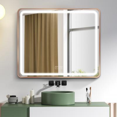 """LED огледало с вградена система за осветление """"touch screen"""" и система против замъгляване, размер 80*60 см., LED Огледала LED огледало с вградена система за осветление """"touch screen"""" и система против замъгляване, размер 80*60 см"""